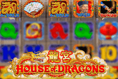 logo house of dragons microgaming spelauatomat