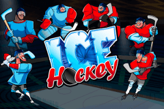 logo ice hockey playtech spelauatomat