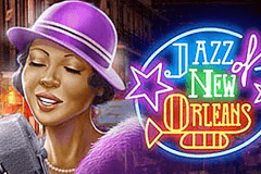 logo jazz of new orleans playn go spelauatomat
