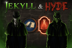 logo jekyll and hyde playtech spelauatomat