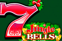 logo jingle bells microgaming spelauatomat
