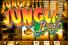 logo jungle boogie playtech spelauatomat
