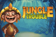 logo jungle trouble playtech spelauatomat