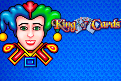 logo king of cards novomatic spelauatomat
