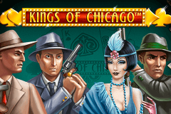 logo kings of chicago netent spelauatomat