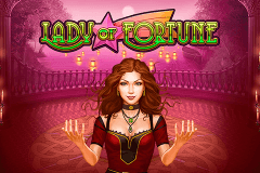 logo lady of fortune playn go spelauatomat
