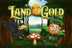 logo land of gold playtech spelauatomat