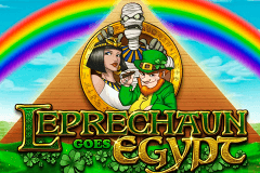 logo leprechaun goes egypt playn go spelauatomat