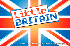 logo little britain playtech spelauatomat