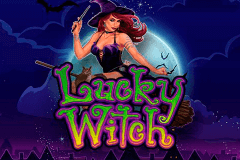 logo lucky witch microgaming spelauatomat