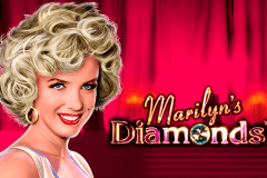logo marilyns diamonds novomatic spelauatomat