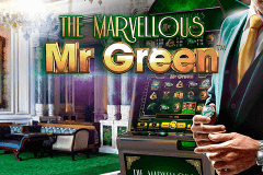 logo marvellous mr green netent spelauatomat