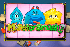 logo monster smash playn go spelauatomat