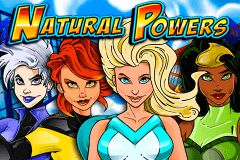 logo natural powers igt spelauatomat