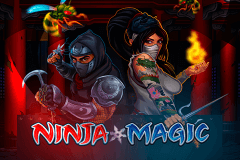 logo ninja magic microgaming spelauatomat