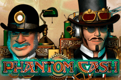 logo phantom cash microgaming spelauatomat