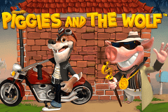 logo piggies and the wolf playtech spelauatomat