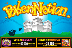 logo pollen nation microgaming spelauatomat