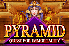 logo pyramid quest for immortality netent spelauatomat
