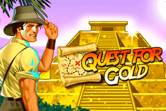 logo quest for gold novomatic spelauatomat