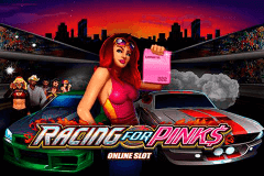 logo racing for pinks microgaming spelauatomat