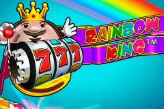 logo rainbow king novomatic spelauatomat