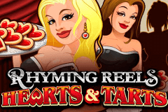 logo rhyming reels hearts and tarts microgaming spelauatomat