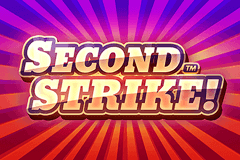 logo second strike quickspin spelauatomat