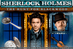 logo sherlock holmes the hunt for blackwood igt spelauatomat