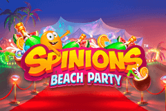 logo spinions beach party quickspin spelauatomat