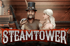 logo steam tower netent spelauatomat