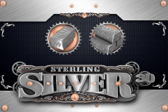 logo sterling silver 3d microgaming spelauatomat