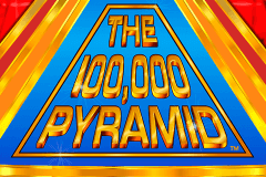 logo the 100000 pyramid igt spelauatomat