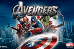 logo the avengers playtech spelauatomat
