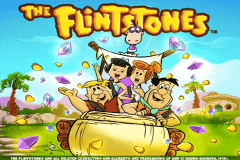 logo the flintstones playtech spelauatomat