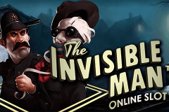 logo the invisible man netent spelauatomat