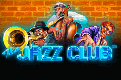 logo the jazz club playtech spelauatomat