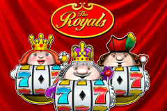 logo the royals novomatic spelauatomat