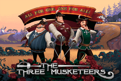 logo the three musketeers playtech spelauatomat