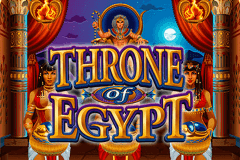 logo throne of egypt microgaming spelauatomat