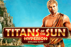 logo titans of the sun hyperion microgaming spelauatomat