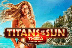 logo titans of the sun theia microgaming spelauatomat