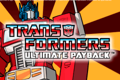 logo transformers ultimate payback igt spelauatomat