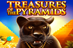 logo treasures of the pyramids igt spelauatomat