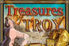 logo treasures of troy igt spelauatomat