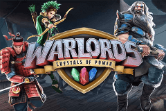 logo warlords crystals of power netent spelauatomat