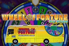 logo wheel of fortune on tour igt spelauatomat