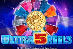 logo wheel of fortune ultra 5 reels igt spelauatomat