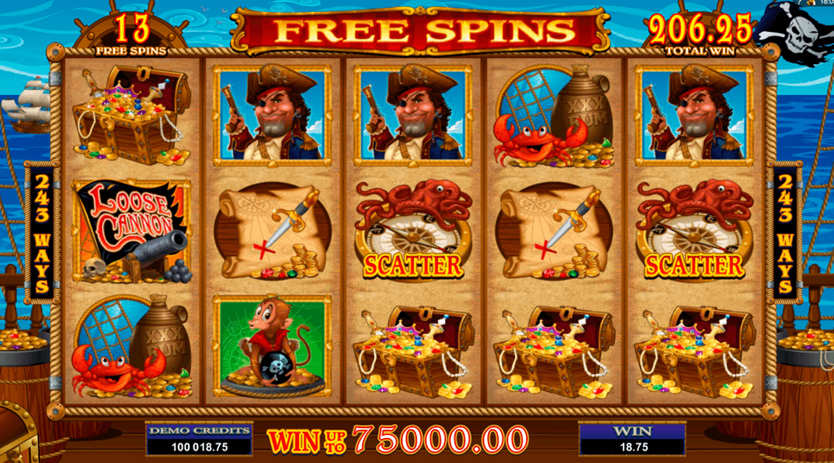 loose cannon microgaming casino slot spel