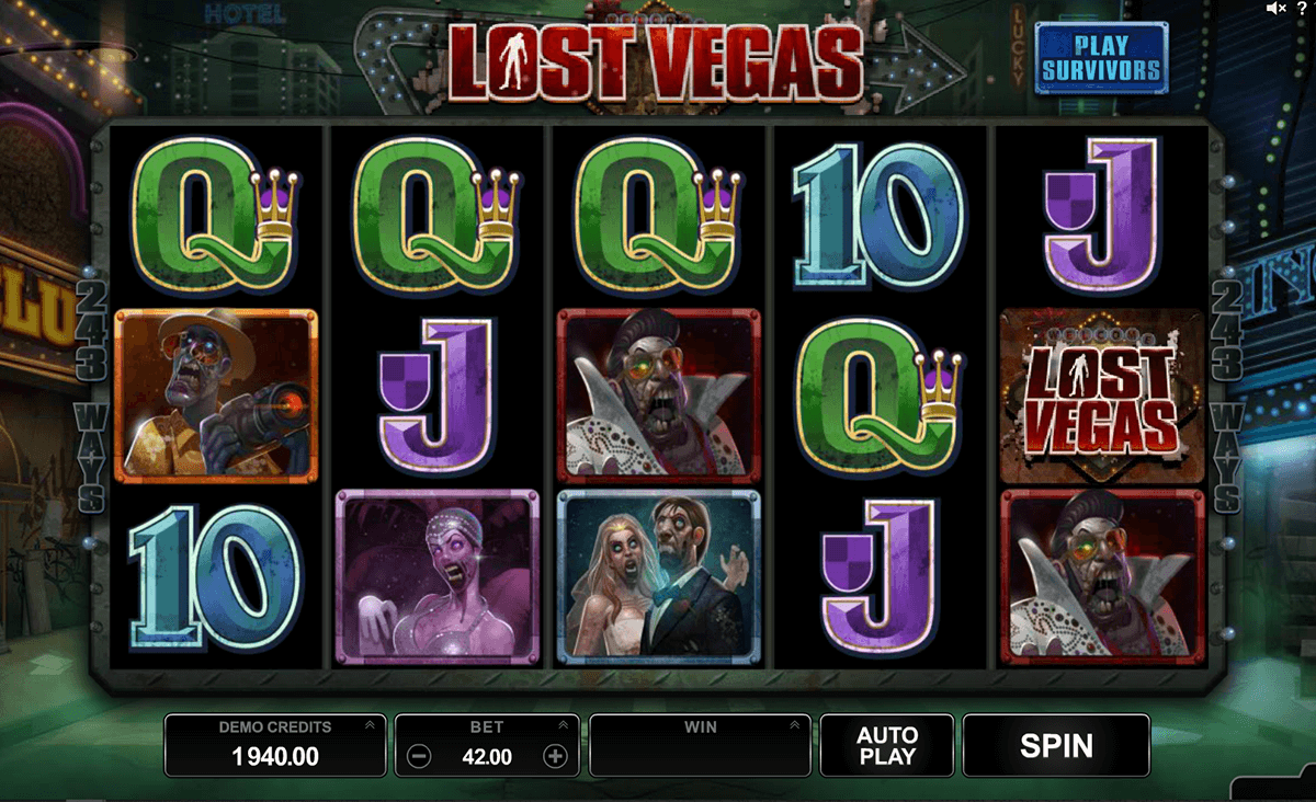 lost vegas microgaming casino slot spel
